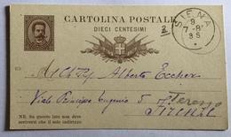 Cartolina Postale 10 Centesimi - Stamped Stationery