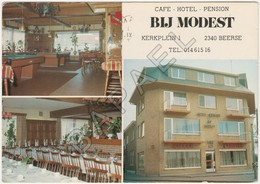 Beerse (Belgique) - Café - Hôtel - Pension ''Bij Modest'' - Beerse