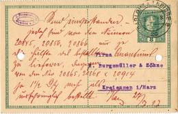 29490. Tarjeta Entero Postal GABLONZ A NEISSE  (Imperio Astrohungaro) 1917 - 1850-1918 Imperium