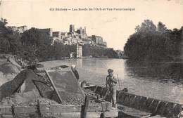 34-BEZIERS- LES BORDS DE L'ORB ET VUE PANORAMIQUE - Beziers