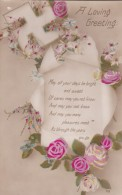 AR69 Greetings - A Loving Greeting - Flowers, Verse - Holidays & Celebrations