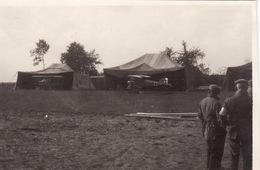 Photo 14-18 Un Camp D'aviation Allemand, Avion (A196, Ww1, Wk 1) - War 1914-18