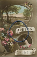 Court-Saint-Etienne : Amitiés  ( Ecrit Avec Timbre )   Etat Parfait Super - Court-Saint-Etienne