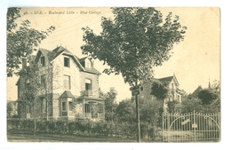 1935, Belgium, Spa, Boulevard Luhr, Blue Cottage Used Latvia/Riga, Fine Pmk. - Spa