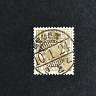 ◆◆JAPAN 1929 Mt. Fuji / Deer Series 8 Sen USED CA37 - 1926-89 Imperatore Hirohito (Periodo Showa)