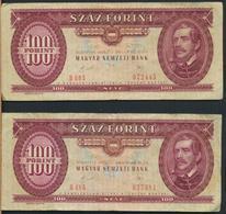 °°° HUNGARY - 100 FORINT 1989 °°° - Ungheria
