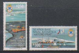 Chile 1997 Antarctica / Base Arturo Prat 2v ** Mnh (39812D) - Chili