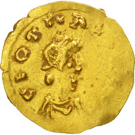 Monnaie, France, Clotaire II, Triens, Marseille, SUP, Or, Belfort:2481 - 470-751 Monete Merovingi