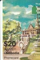 Cambodia - Old Palace (I951814a) - Cambodia