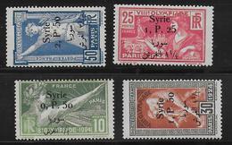 SYRIE - YVERT N° 149/152 * - COTE = 168 EUROS - CHARNIERE - JEUX OLYMPIQUES De PARIS - Syria (1919-1945)