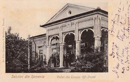 SALUTARI Din ROMANIA : TECUCI - OFICIUL POSTAL / THE POST OFFICE - FORERUNNER / PRÉCURSEUR ~ 1900 - RRR !!! (ab914) - Rumänien
