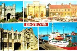 CPA N°21981 - KING'S LYNN MULTIVUES - England