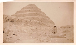 ¤¤  -   EGYPTE   -  SAQQARAH  -  La Pyramide à Degrès En 1934   -  Voir Description       -  ¤¤ - Piramidi