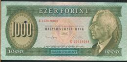 °°° HUNGARY - 1000 FORINT 1993 °°° - Ungheria