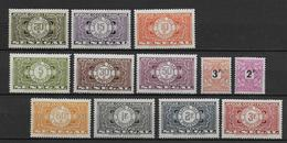 SENEGAL - TAXE YVERT N° 20/31 * - COTE = 27 EUROS - CHARNIERE CORRECTE - - Sénégal (1887-1944)