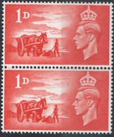 GRAN BRETAGNA, GREAT BRITAIN, COMMEMORATIVO, LIBERAZIONE ISOLE CANALE, 1948, NUOVI (MNH**) Michel 235   Scott 269 - 1902-1951 (Re)