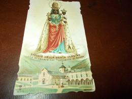B692   Santino Preghiera Nostra Signora D'oropa - Devotieprenten
