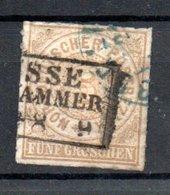 Conf. De L'Allemagne Du Nord  / N 6 /  5 G Bistre / Oblitéré / Côte 12 € - Norddeutscher Postbezirk