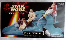 BOITE VEHICULE STAR WARS EPISODE I FLASH SPEEDER Pas Figurine - Power Of The Force