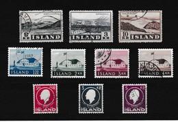 Ijsland Kleine Verzameling G, Zeer Mooi Lot Krt 3920 - 1944-... Republique