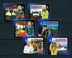 Alderney  Nº Yvert  200/5  En Nuevo - Alderney
