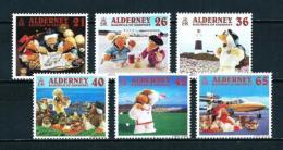 Alderney  Nº Yvert  152/7  En Nuevo - Alderney