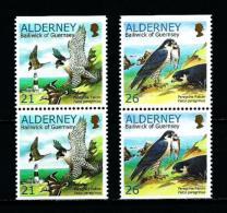 Alderney  Nº Yvert  146a/7a (pareja Vertical)  En Nuevo - Alderney