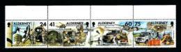 Alderney  Nº Yvert  90/3  En Nuevo - Alderney