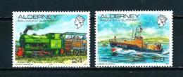 Alderney  Nº Yvert  59/60  En Nuevo - Alderney