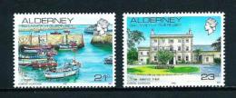 Alderney  Nº Yvert  48-54  En Nuevo - Alderney