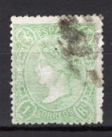 Spagna 1865 Unif.76 O/Used VF/F - 1850-68 Regno: Isabella II
