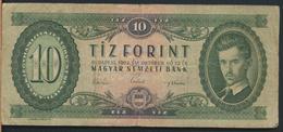 °°° HUNGARY - 10 FORINT 1962 °°° - Ungheria