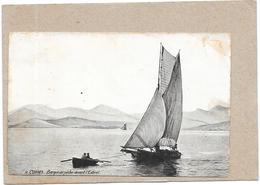 CANNES - 06 -   Barque De Pèche Devant L'Estérel - BARA** - - Cannes
