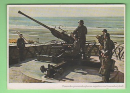 Pomerania Baltic Sea Flugabwehr Antiaerea Tedesca Old Foto Anni '40 Soldiers Avion - Guerre 1939-45