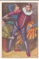 CHROMO--JACQUEMAIRE-( Blédine, Diase Céréale-le Costume A Travers Les Ages-masculin--henri III---voir 2 Scans - Chromos