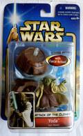 STAR WARS 2002 BLISTER ATTACK OF THE CLONE   YODA Jedi Master - Episode II