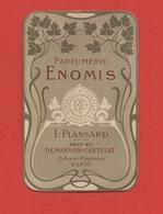 Parfumerie ENOMIS, L. Plassard 17 Rue Du 4 Septembre, Paris, Chromo Calendrier - Calendars