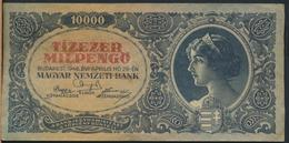 °°° HUNGARY - 10000 PENGO 1946 °°° - Ungheria