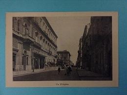 FOTO CARTOLINA PROVENIENTE DA LIBRETTO RICORDO DI TARANTO FRATELLI FILIPPI - VIA D'AQUINO - Oggetti 'Ricordo Di'