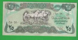 Iraq 25 Dinars For Saddam Hussein - Iraq