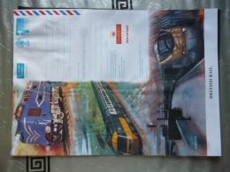 GREAT BRITAIN [UK] AEROGRAMME MINT RAILWAY MEMORABILIA - Stamped Stationery, Airletters & Aerogrammes
