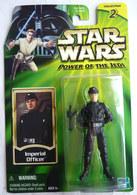 STAR WARS 1995 BLISTER POWER OF THE JEDI  FIGURINE IMPERIAL OFFICER Blister US - Episode I