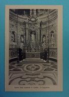 FOTO CARTOLINA PROVENIENTE DA LIBRETTO RICORDO DI TARANTO FRATELLI FILIPPI - INTERNO CATTEDRALE S. CATALDO IL CAPPELLONE - Oggetti 'Ricordo Di'
