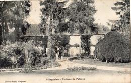 VILLEGUSIEN-LE-LAC CHATEAU DE PETASSE - Frankrijk