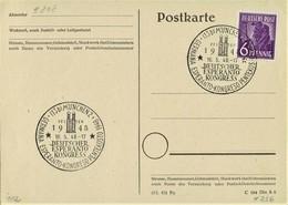 Germany - Sonderstempel / Special Cancellation (S271) - Esperanto