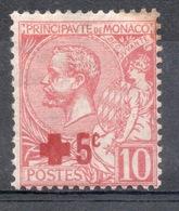 1914  MONACO  Croce Rossa 10 + 5 - Monaco
