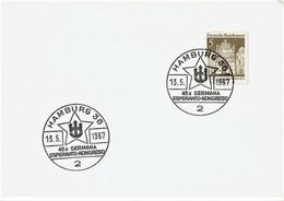 Germany - Sonderstempel / Special Cancellation (S274) - Esperanto