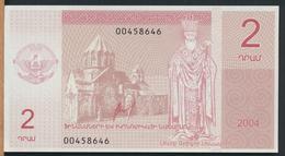 °°° NAGORNO KARABAKH 2 DRAM 2004 UNC °°° - Nagorno Karabakh
