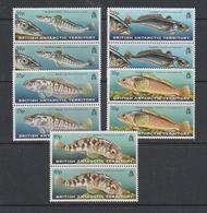 British Antarctic Territory 1999 Fish Of The Southern Ocean 5v (pair) ** Mnh (39815A) - Ongebruikt