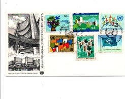 NATIONS UNIES VIENNE FDC 1979 - FDC